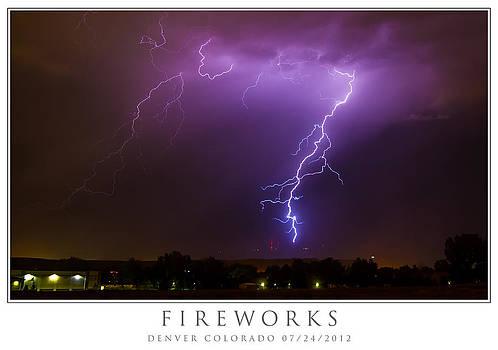 Fireworks by Howard Weitzel