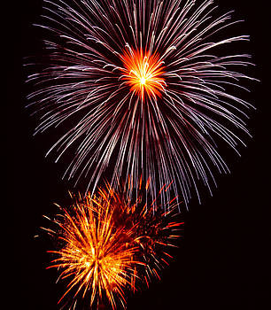 Fireworks by Joan Powell