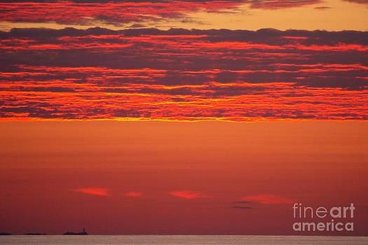 Fiery Sky by Eunice Miller