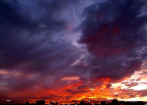 Firey Sky by Jen Seel