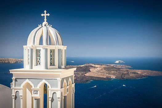 Firostefani Santorini by Bjoern Kindler