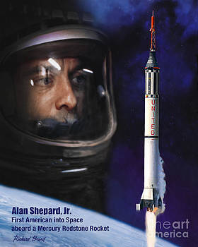 First American in Space by Richard Beard