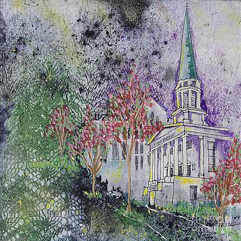 Old First Baptist Church by Edith Hardaway