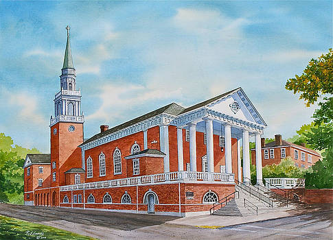 First Church of Charlottesville by Raymond Edmonds