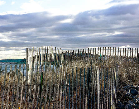 First Cliff Scituate by Carol Sutherland