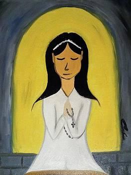 First Communion by Carlos Alvarado