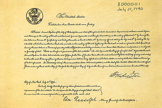 Ian Monk - First Ever US Patent for Potash Patent Art 1790