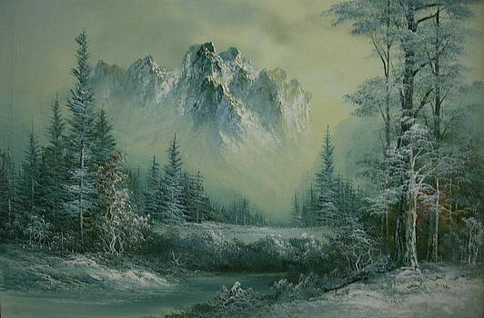 First Foggy Frost by Brent Vall Peterson