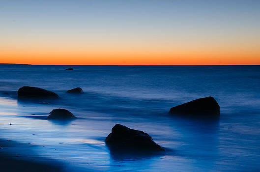 First Light at Lucy Vincent Beach by Steve Myrick