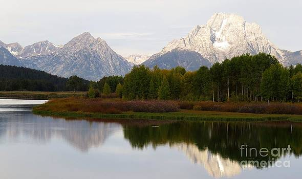 Harriet Peck Taylor - First Light on the Tetons
