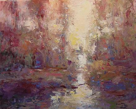 First light on the Tule river by R W Goetting