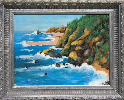 First Ocean Scene by Annette Jimerson