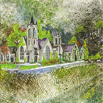 First Presbyterian Church by Edith Hardaway