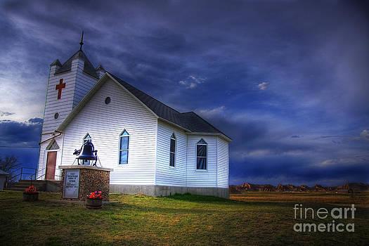 Wayne Moran - First Presbyterian Church Interior South Dakota