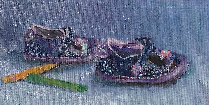 First shoes by Sabrina Phillips