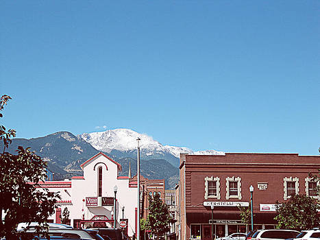 Roberta Hayes - First Snow on Pikes Peak