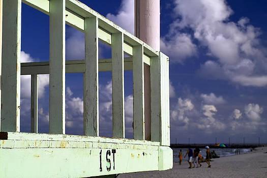 First Street Porch by Gary Dean Mercer Clark