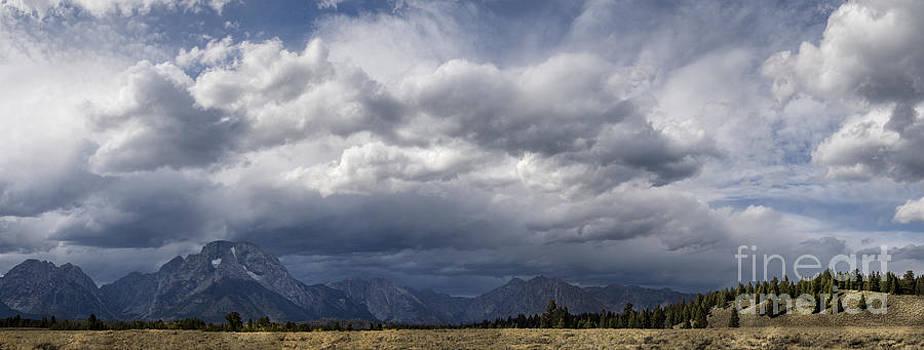Sandra Bronstein - First Touch of Winter - Grand Teton NP