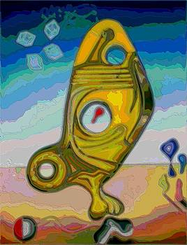 Fish Abstract #2 by George Curington