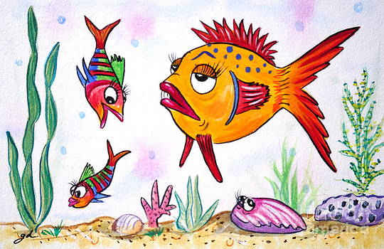 Fish and Friends by Gail Dolphin