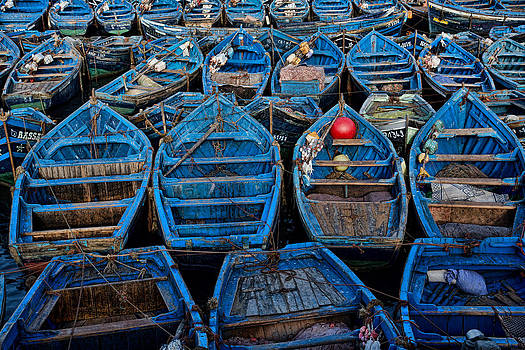 Fish Boat Parking Lot by Phil Dyer