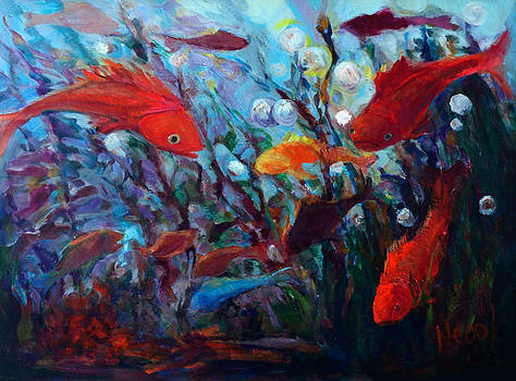 Fish Chatter by Nanci Cook
