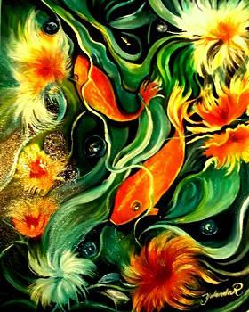 Fish Explosion by Yolanda Rodriguez