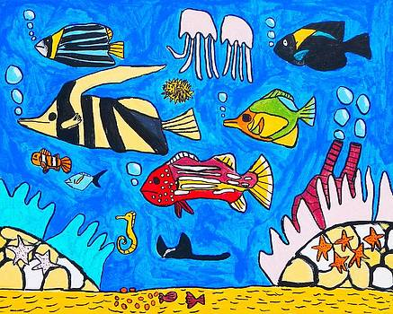 Artists With Autism Inc - Fish Family