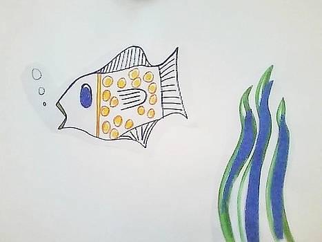 Fish in the Sea I by Karen Jensen