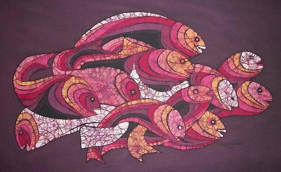 Fish Journeys by Lukandwa Dominic