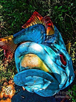 Fish Sculpture by Anne Ferguson