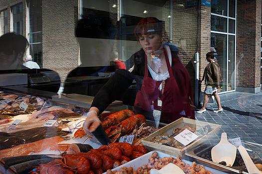 Fish shopping by Paul Indigo
