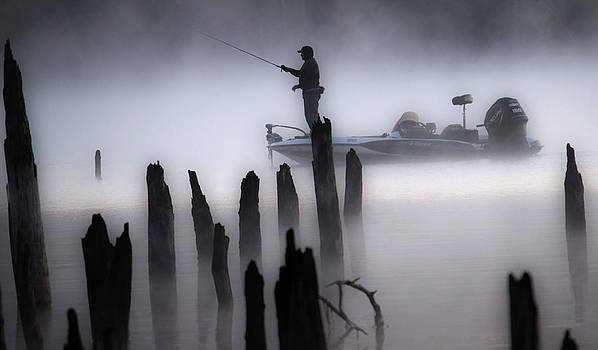 Tina McGinley - Fisher in the Fog