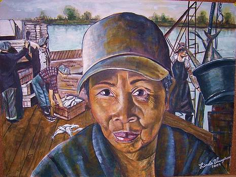 Fisher Woman by Linda Vaughon