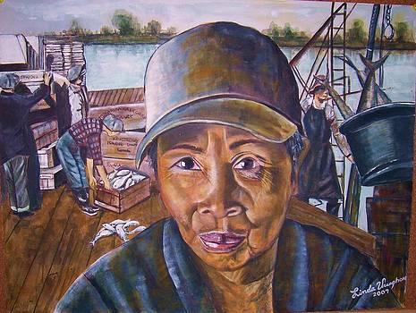 Fisher Woman by Linda Vaughon