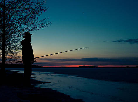Fisherman and a Star by Janne Mankinen