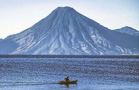 Fisherman in Cayuco by Tina Manley