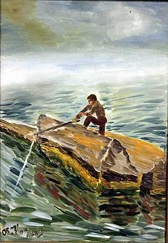 Fisherman by Vladimir A Shvartsman