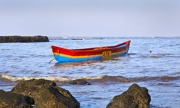 Kantilal Patel - Fishermans canoe Manori Bel