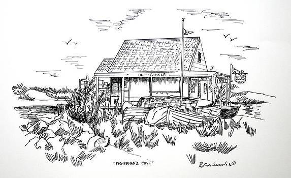 Fisherman's Cove Manasquan NJ by Melinda Saminski