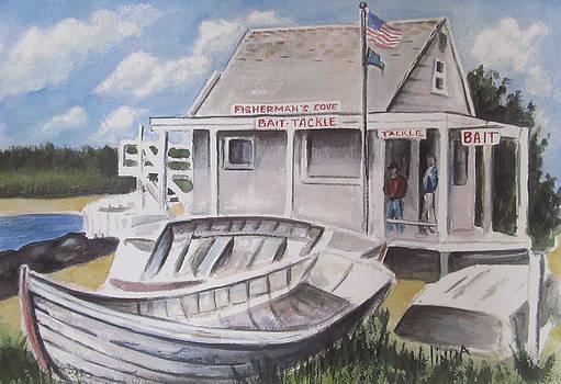 Fishermans Cove  by Melinda Saminski