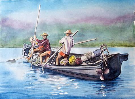 Fishermans by Ida Yavari