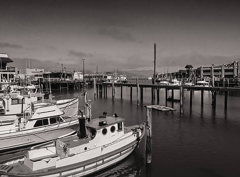 Fisherman's Wharf Boats by James Canning