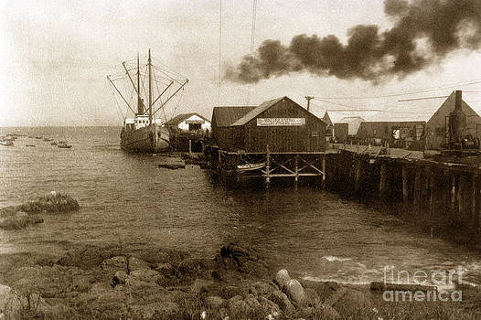 California Views Mr Pat Hathaway Archives - Fishermans Wharf Monterey circa 1920