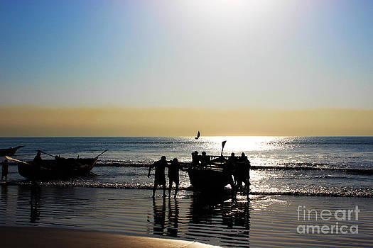 Fishermen by Dheeraj B