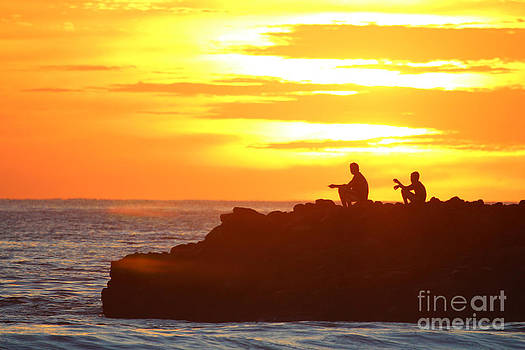 Fishermen Sunset by Stav Stavit Zagron