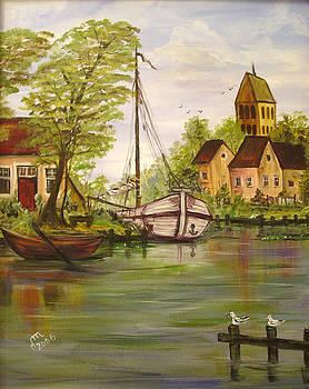 Fishermen Village by Dorothy Maier