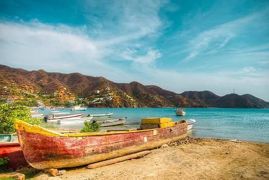 Fishermen's Town by Alejandro Tejada