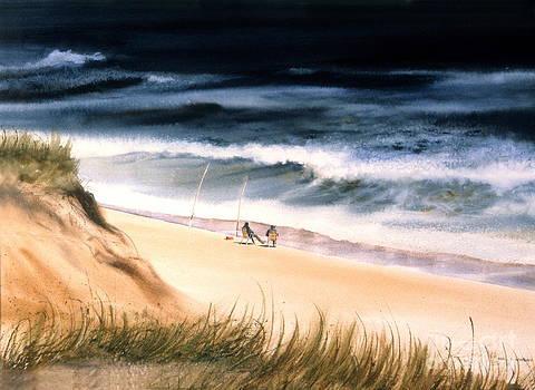Fishermen's Wait by Karol Wyckoff