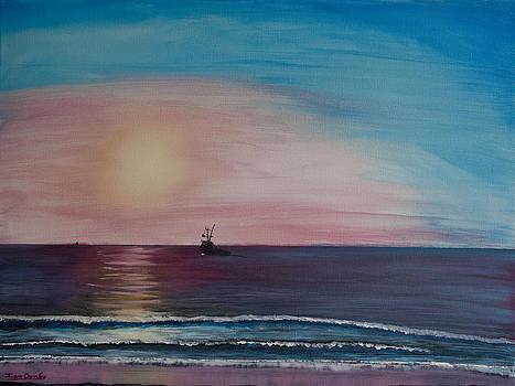Ian Donley - Fishing Alone at Night